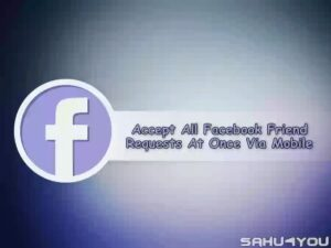 Accept Facebook FriendRequests Trick 1
