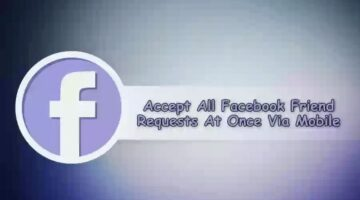 How To Accept All friend Request In a One Click In Hindi