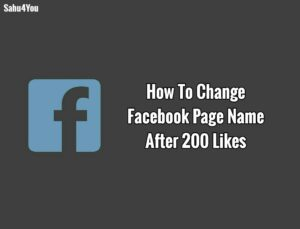 Facebook Page Full Rename Trick – Change Fb Page Name 2018