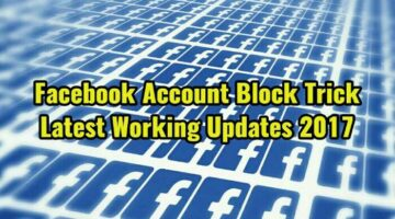 Facebook Account Id Block / Unblock Kaise Kare – Latest Trick