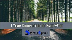 Sahu 4 You, 1 Year Story, Meri Kahani, Blogging Experience