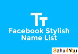 Latest Facebook Stylish Names List 2019 [Girls & Boys]