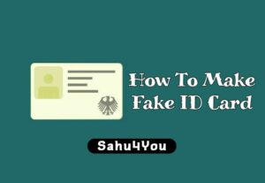 Fake Government ID Card Maker Online Free (Aadhar, PAN, School, Driving License, Voter)