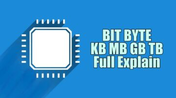 Bit Byte Kb Mb Gb TB Kya Hai Full Form