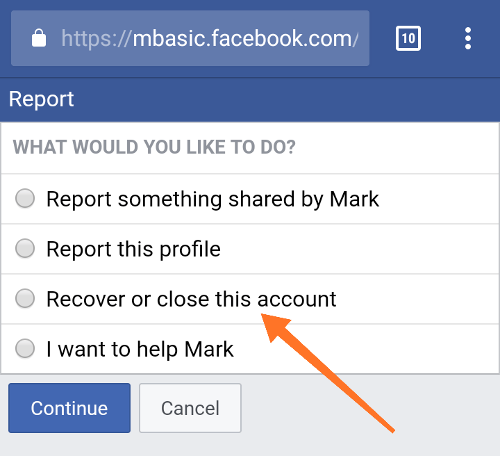 Recover & Close This Account