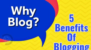why start blog, benefit of blogging