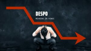 DESPO Meaning in Hindi