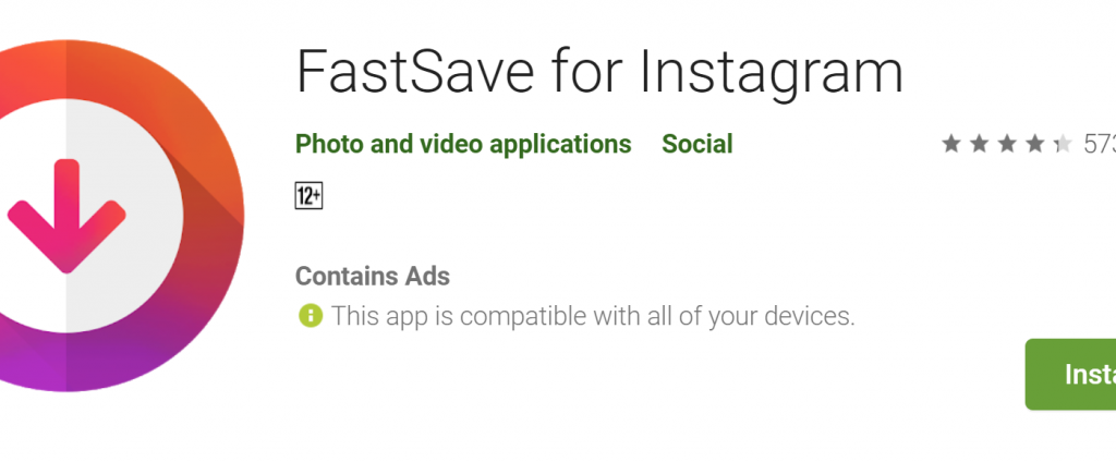 FastSave App Download