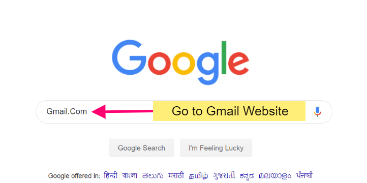 Googel Gmail Website
