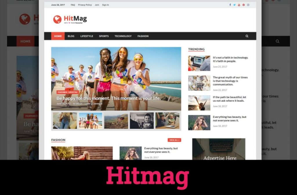 HitMag Free WordPress Theme