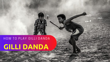 How to Play Gilli Danda Game in Hindi