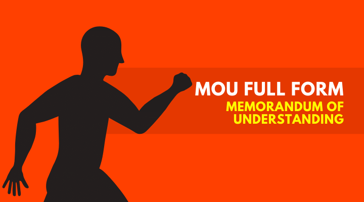 MOU Full Form in HIndi