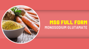 MSG Full Form in Hindi