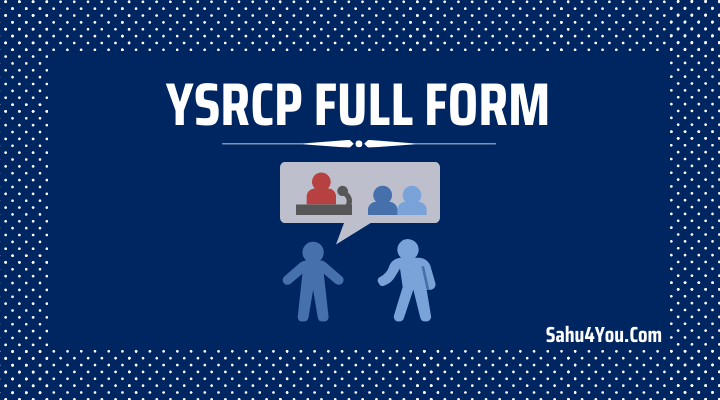 YSRCP Full Form