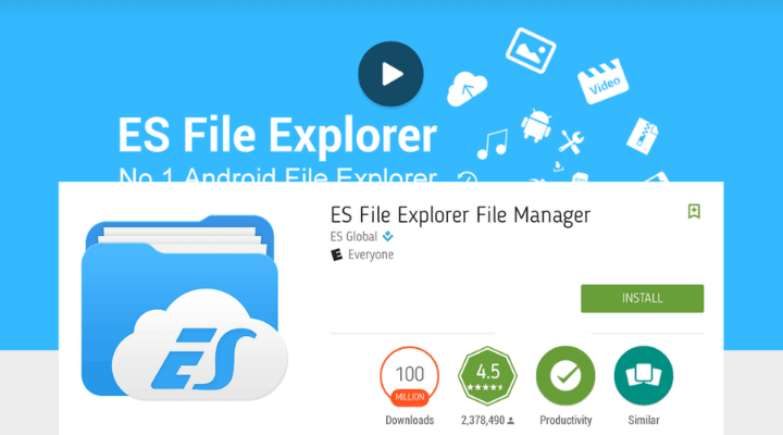 Download ES File Manager APK
