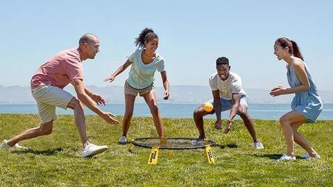 play outdoor games