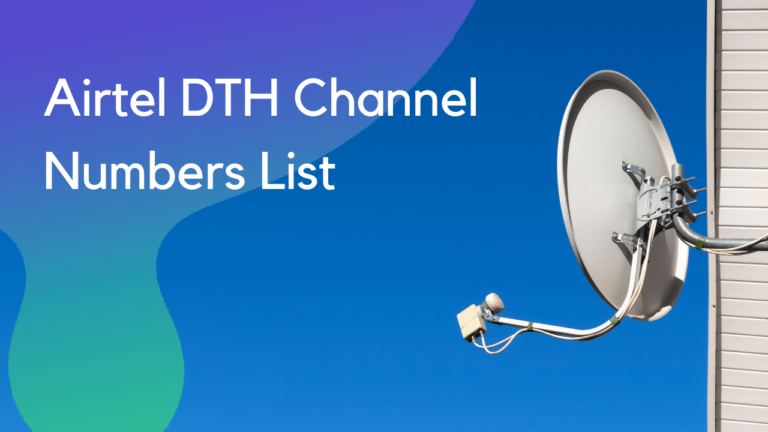 Airtel DTH Channel Numbers List