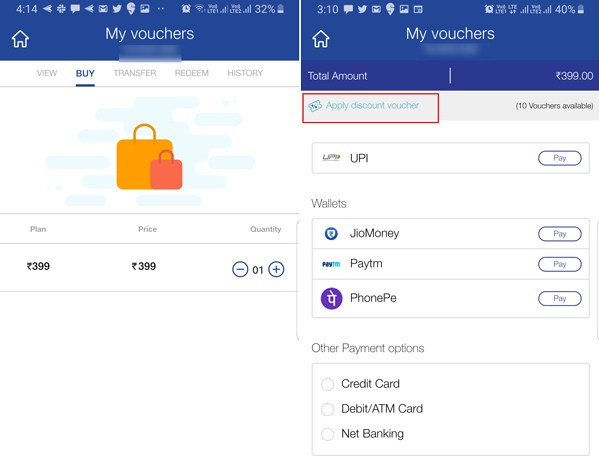 Apply Jio Discount Voucher