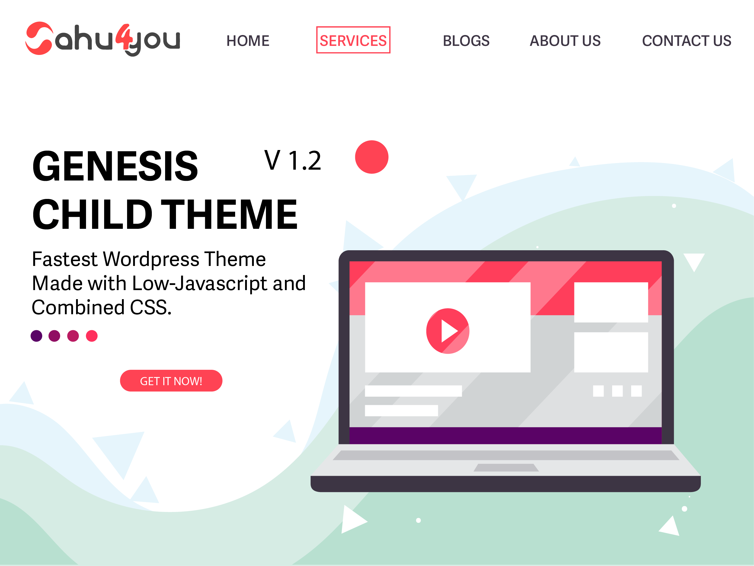 Sahu4You Lite Wordpress Theme