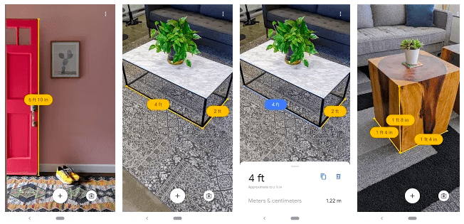 How to use Google Measure App