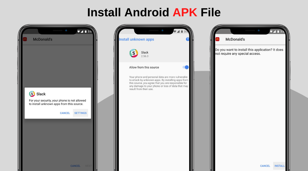How to Install A Android APK