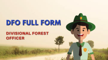 DFO Full Form Hindi in Forest Department