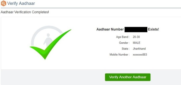How to Check aadhar card number online